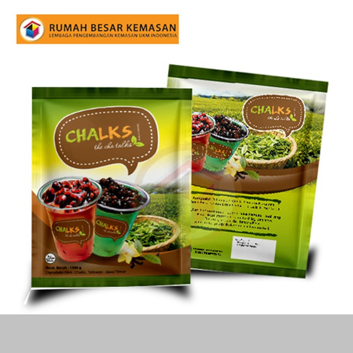 Chalks The Cha Talks - Kemasan Standing Pouch - Kopi Bubuk