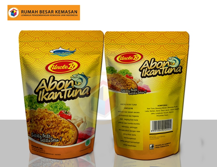 Uncle B Abon Ikan Tuna Kuning - Uncle B-Abon Ikan Tuna Kuning